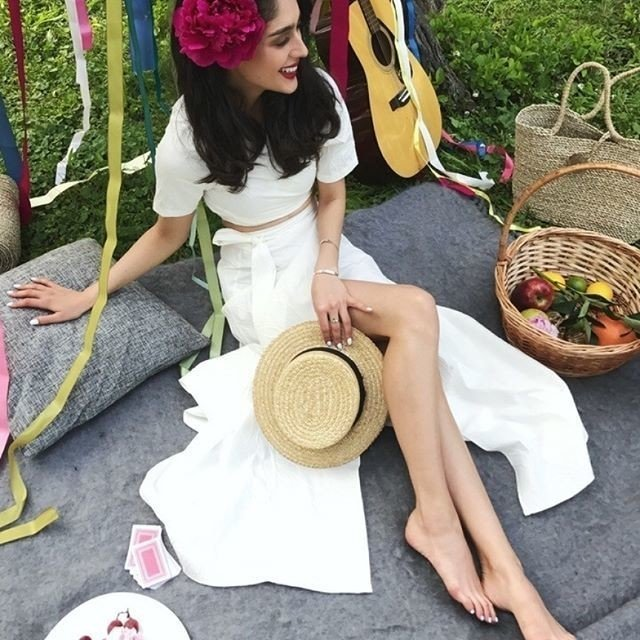12⠀STOREEZ Костюм: топ на завязке и юбка макси с запахом костюм пиджак юбка пояс avemod костюм пиджак юбка пояс