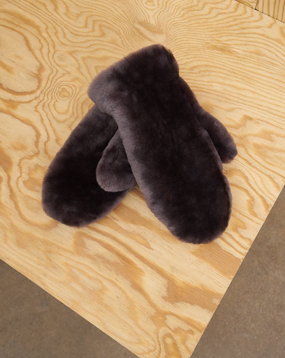 12Storeez Меховые рукавицы цена и фото