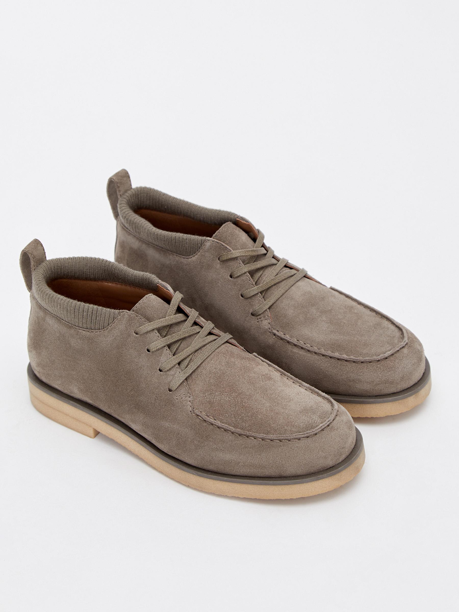 12⠀storeez ботинки на шнурках 12⠀STOREEZ Низкие ботинки на шнурках