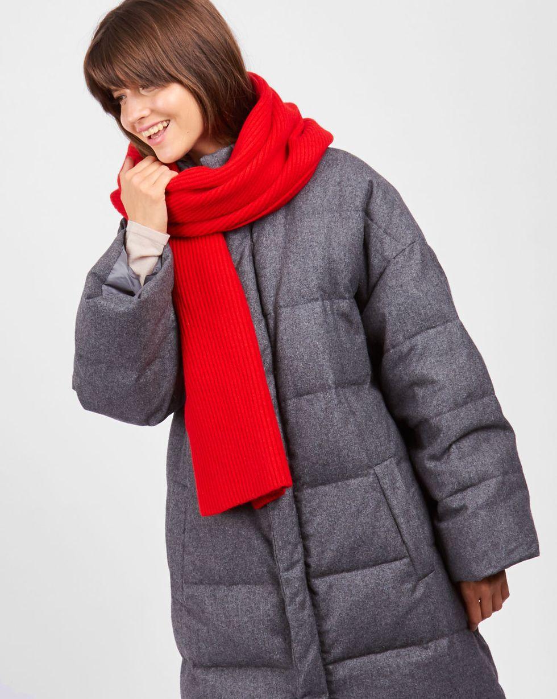12Storeez Шарф (красный) шарф sj539 rglt 100%