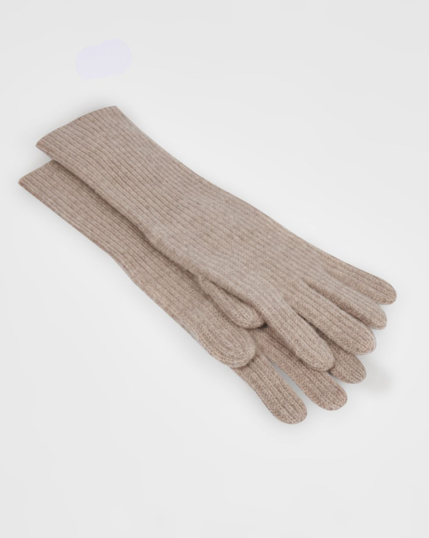 12Storeez Перчатки (бежевый) 12storeez шуба укороченная из искусственного меха бежевый