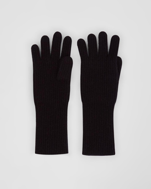 Перчатки One sizeАксессуары<br><br><br>Артикул: 80010541<br>Размер: One size<br>Цвет: Черный<br>Новинка: НЕТ<br>Наименование en: Knit gloves