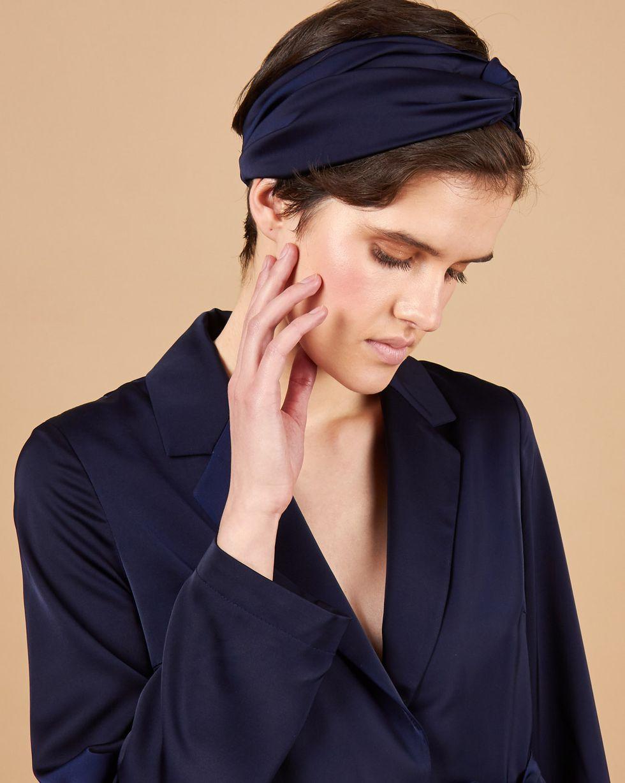 12Storeez Повязка на голову (темно-синий) повязки на голову lak miss повязка на голову