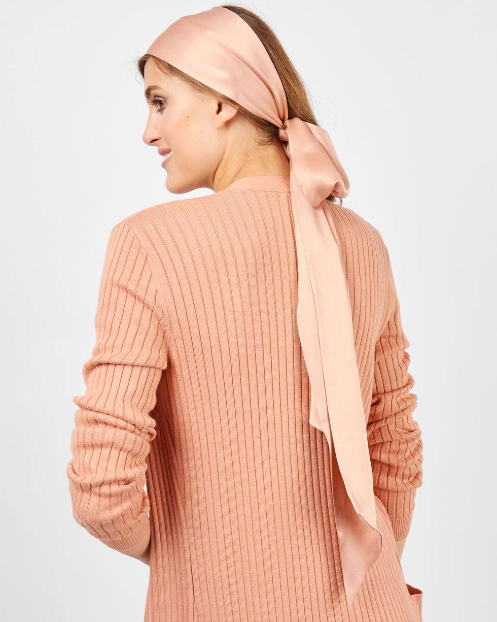 Шарф шелковый One sizeаксессуары<br><br><br>Артикул: 8005959<br>Размер: One size<br>Цвет: Темно-бежевый<br>Новинка: НЕТ<br>Наименование en: Skinny silk scarf