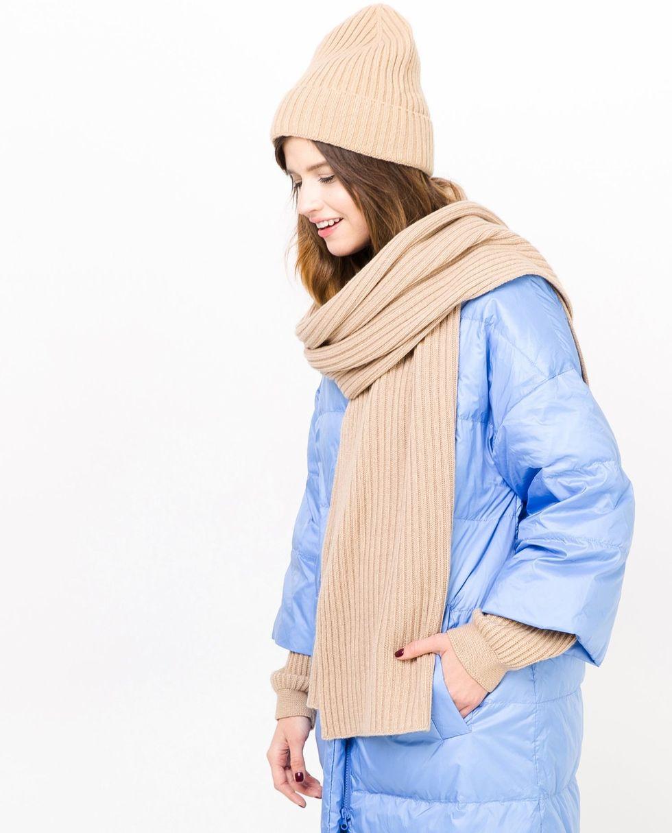 12Storeez Шарф (кэмел) шарф f frantelli шарф