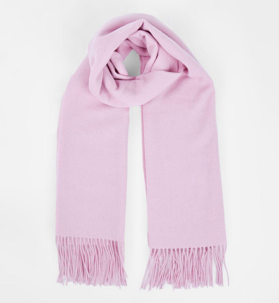 Шарф из кашемира, шелка и шерсти One sizeАксессуары<br><br><br>Артикул: 8007976<br>Размер: One size<br>Цвет: Розовый<br>Новинка: НЕТ<br>Наименование en: Cashmere &amp; Wool blend scarf