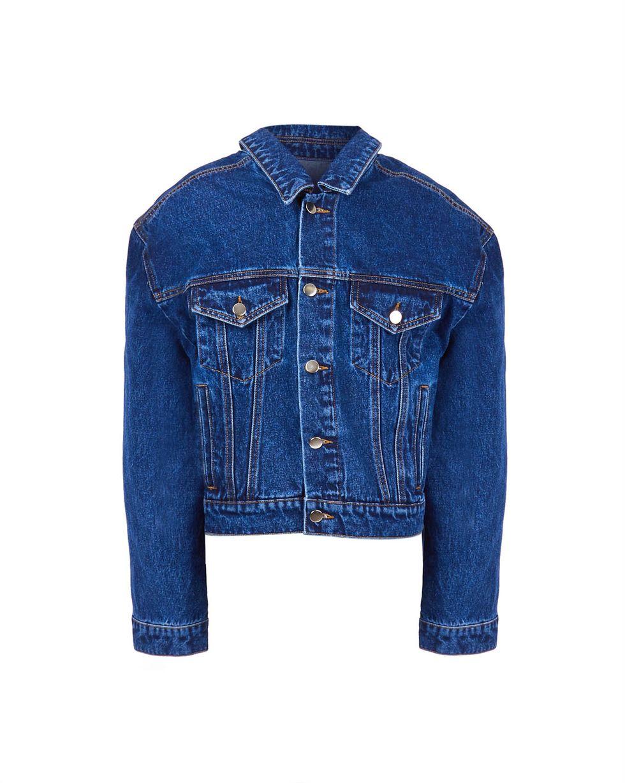 Джинсовая куртка One sizeЖакеты<br><br><br>Артикул: 79911274<br>Размер: One size<br>Цвет: Темно-синий<br>Новинка: НЕТ<br>Наименование en: Denim jacket
