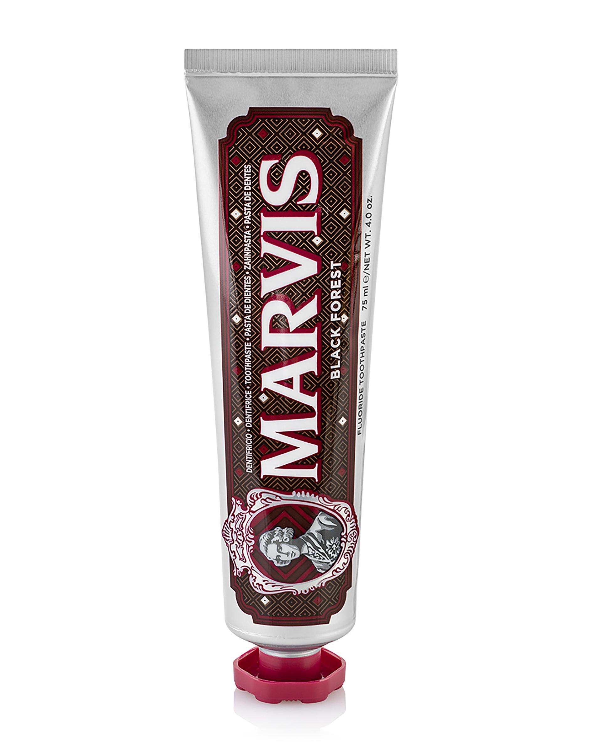 12STOREEZ MARVIS Зубная паста BLACK FOREST 75 мл 12storeez marvis зубная паста мята антитабак отбеливающая 85 мл