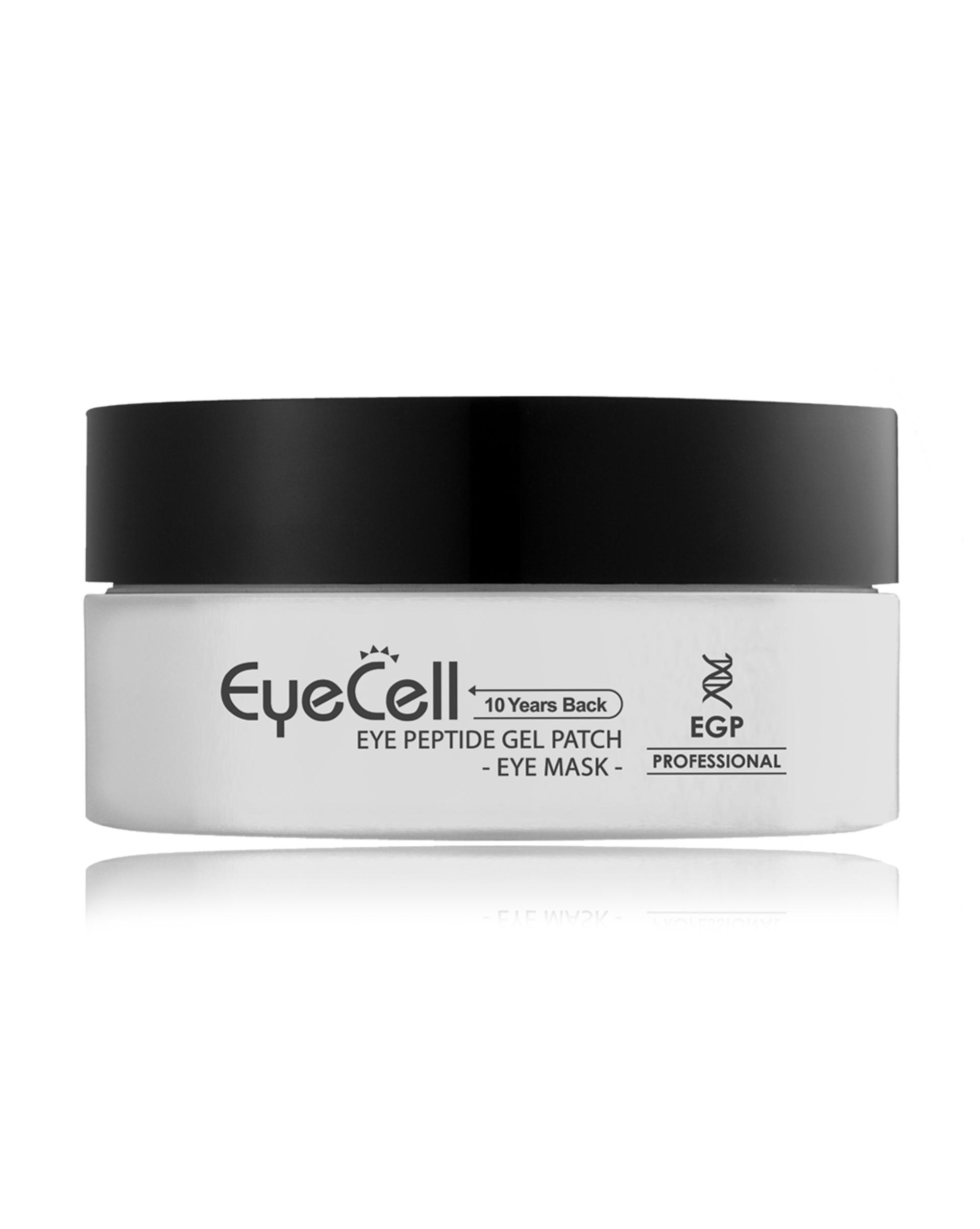 12Storeez GENOSYS EYECELL Eye Peptide Gel Patch Пептидные гелевые патчи для области вокруг глаз, 60 шт