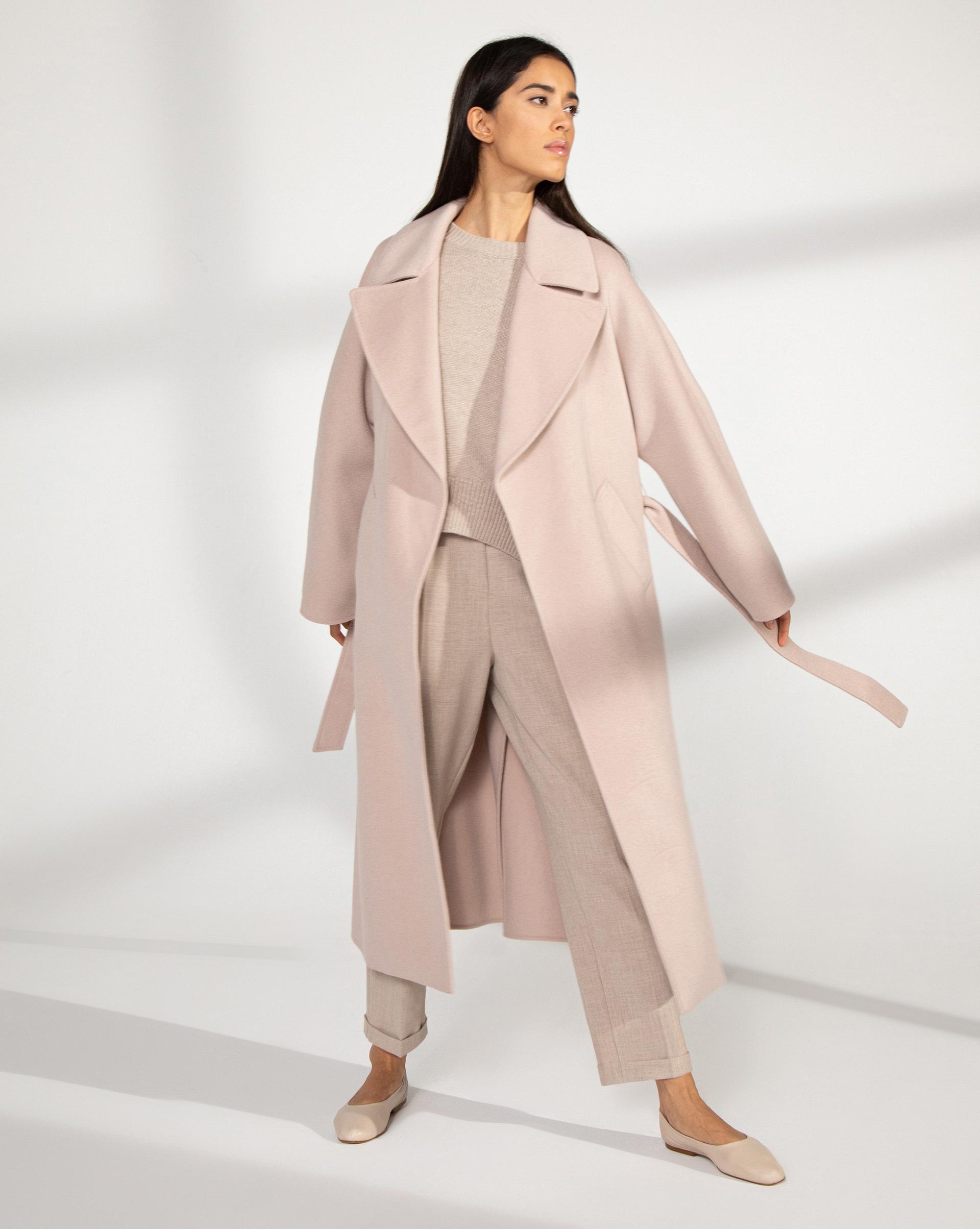 12⠀STOREEZ Пальто с поясом