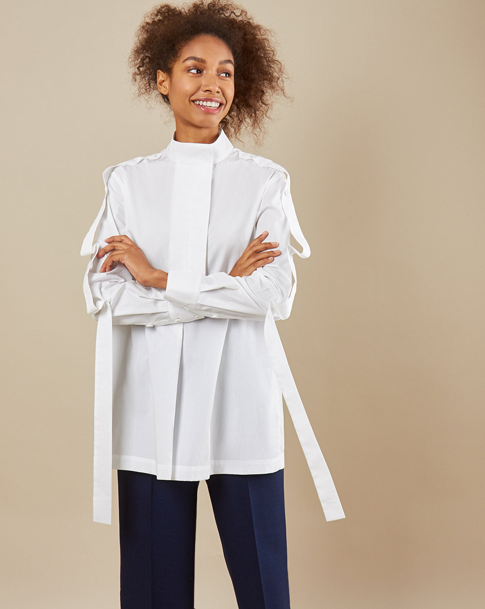 12Storeez Рубашка BL65/025 (Белый)