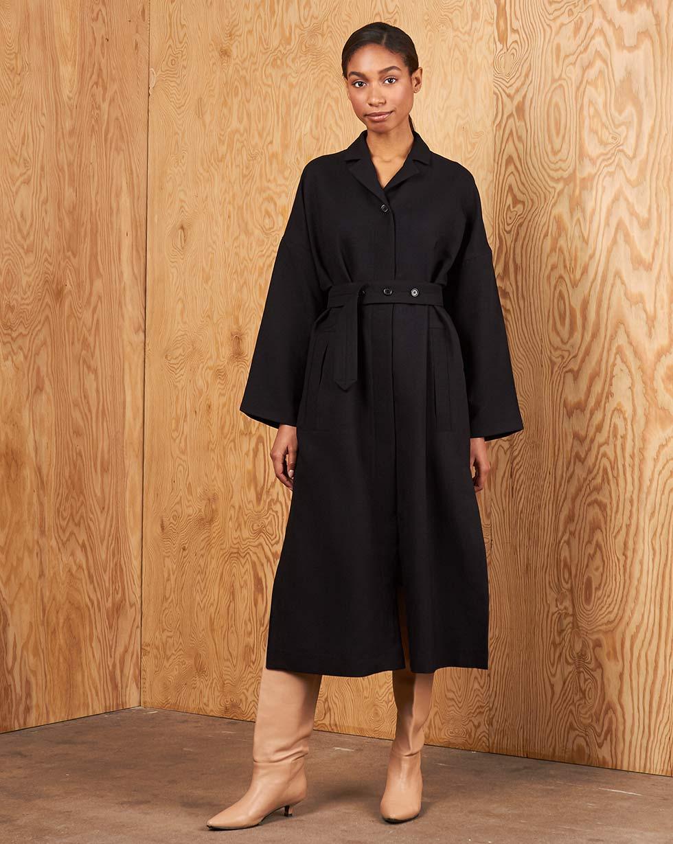 12Storeez Платье с разрезами и поясом