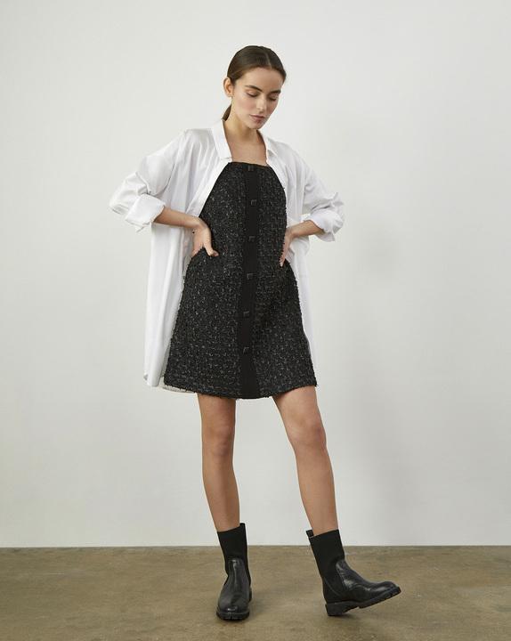 12Storeez Платье мини(Черный) цена