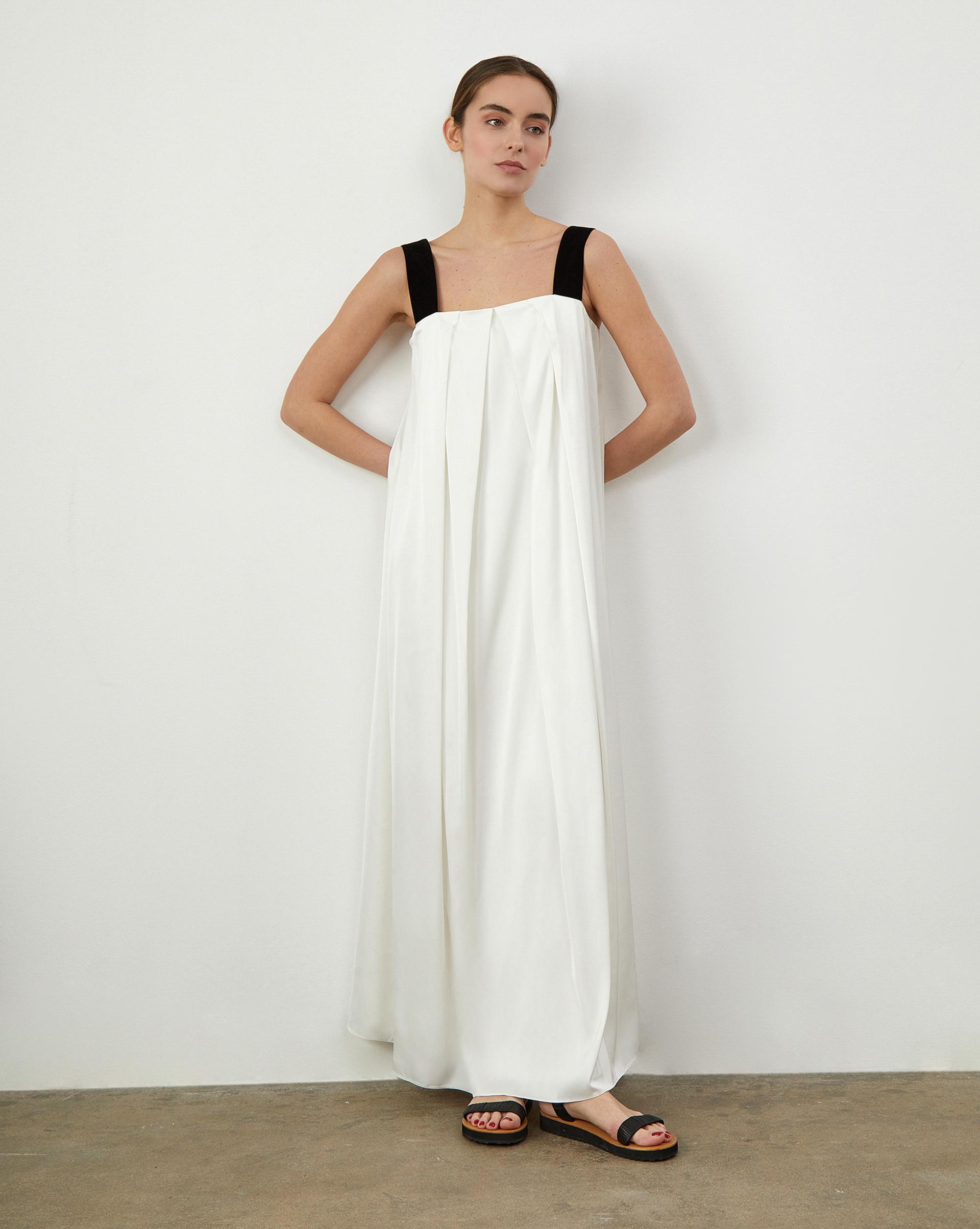 12Storeez Платье широкое, на бретелях платье yaroslavna yaroslavna mp002xw1as3b