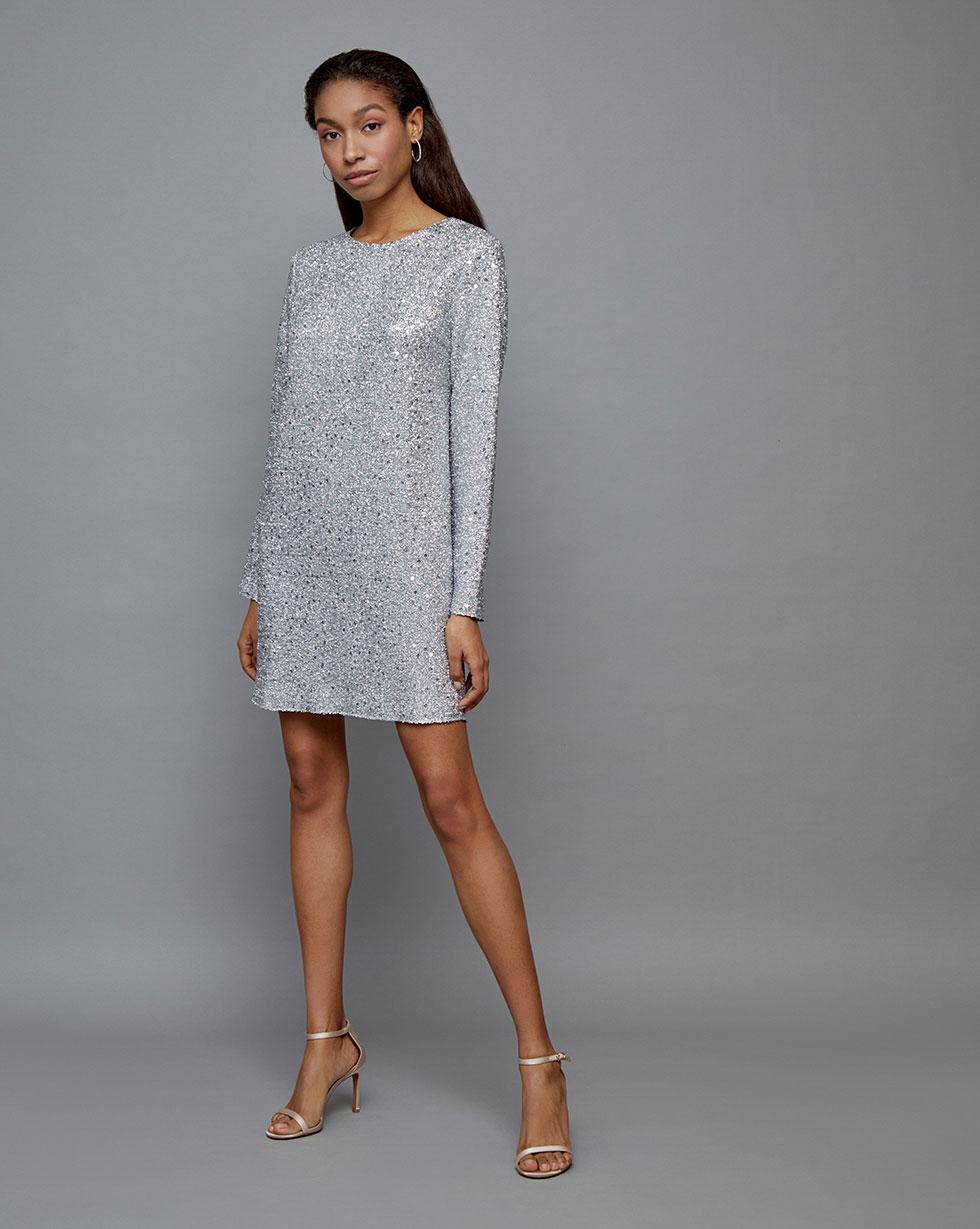 Платье мини S фото