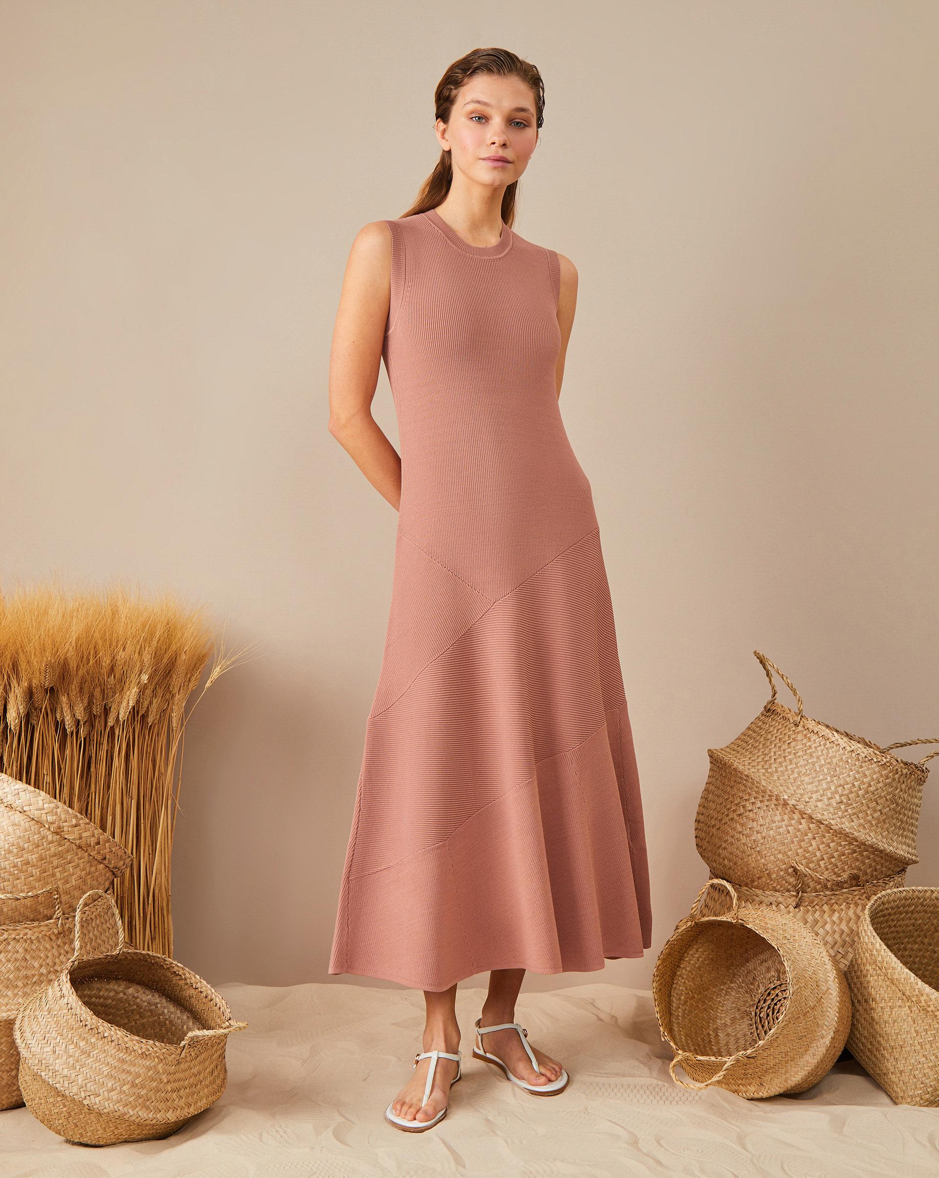 12Storeez Платье с юбкой годе