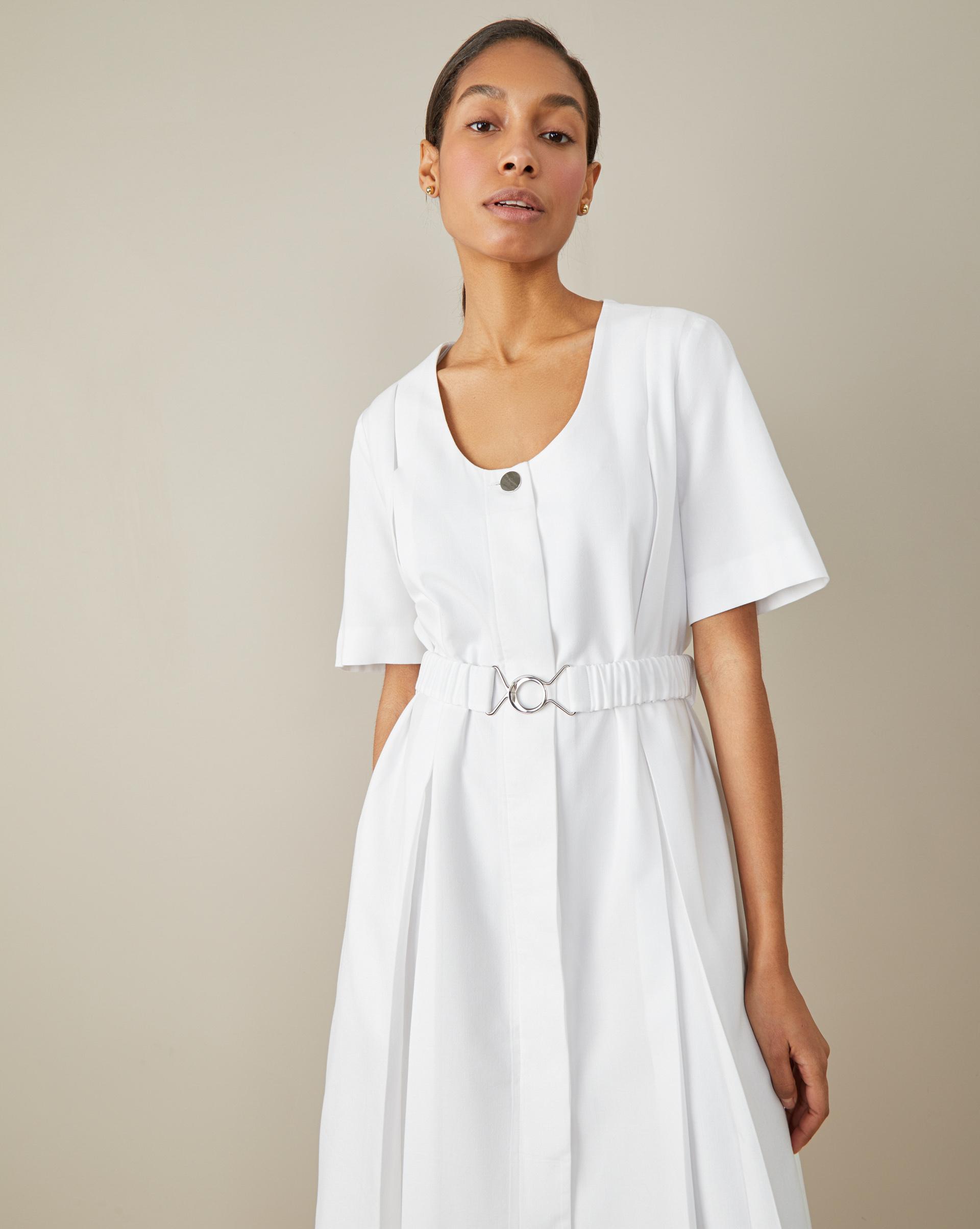 Платье в складку XS фото