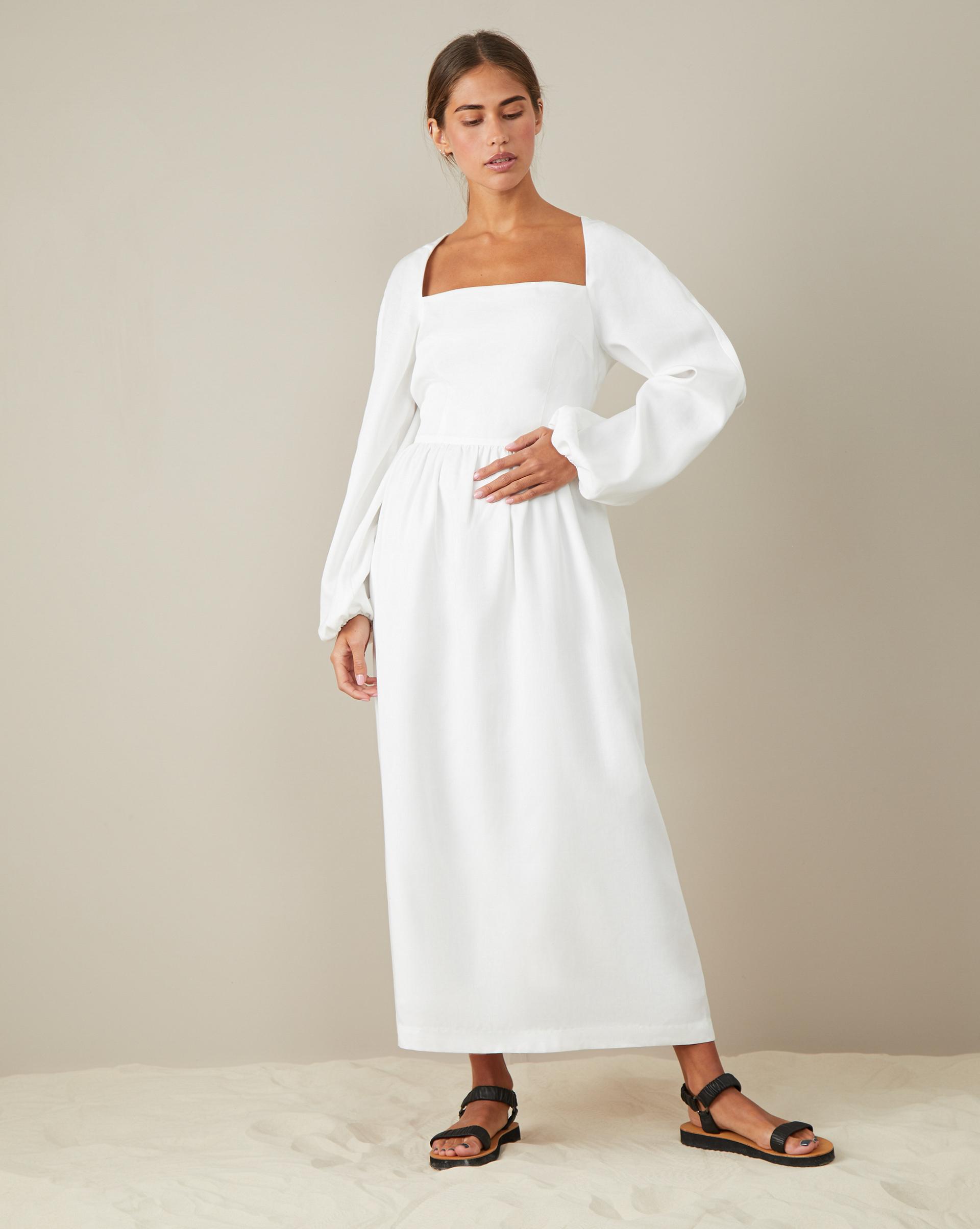 12Storeez Платье с лифом и пышной юбкой платье приталенное из блестящего жаккарда