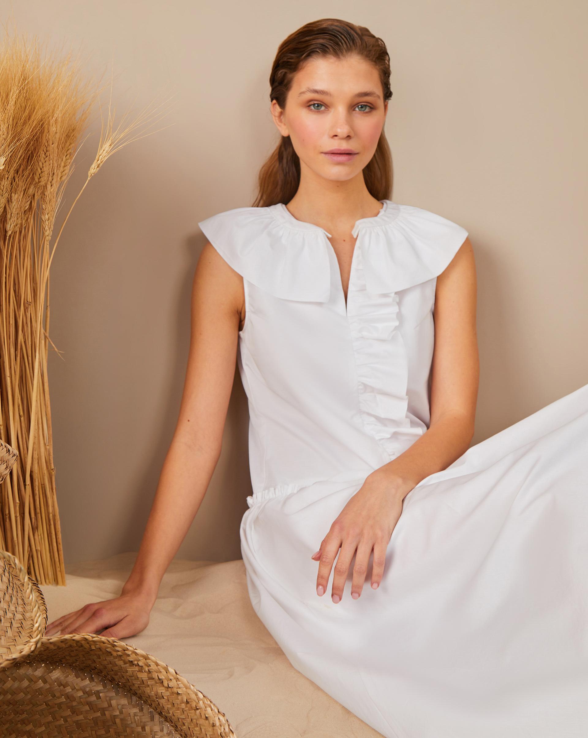 12Storeez Платье с рюшей
