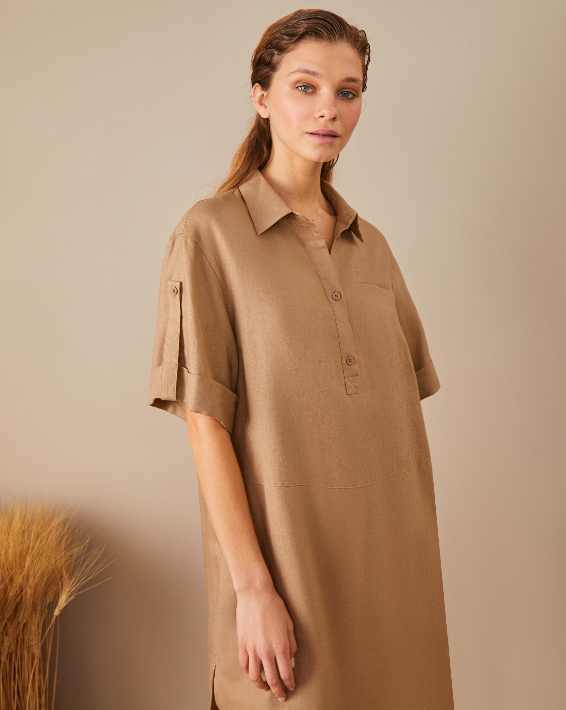 12Storeez Платье-рубашка с планкой