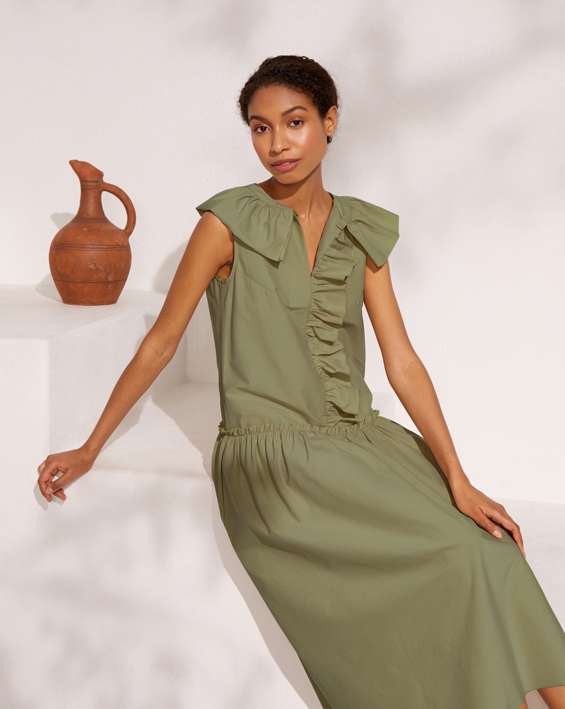 12⠀STOREEZ Платье с рюшей