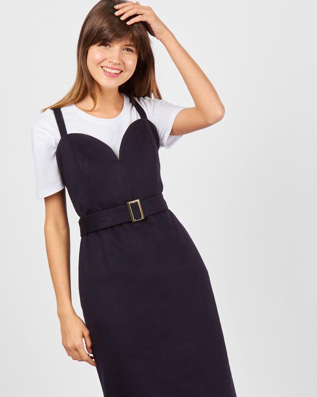 Платье-комбинация из кашемира XSПлатья<br><br><br>Артикул: 82910773<br>Размер: XS<br>Цвет: Темно-синий<br>Новинка: НЕТ<br>Наименование en: Cashmere slip dress