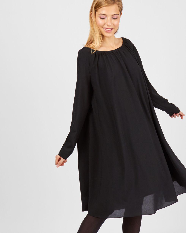 12Storeez Платье с вырезом на спине (черный)