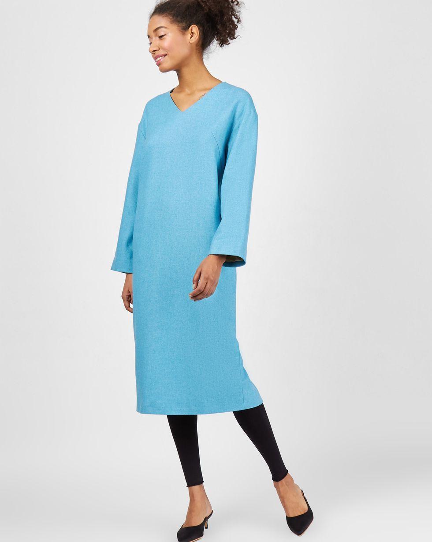 цена 12Storeez Платье со спущенными плечами (бирюза) онлайн в 2017 году