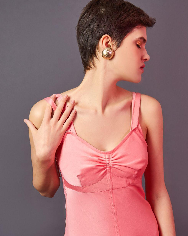 Комбинация на широких бретелях LПлатья<br><br><br>Артикул: 82912463<br>Размер: L<br>Цвет: Розовый<br>Новинка: ДА<br>Наименование en: Wide strap slip dress