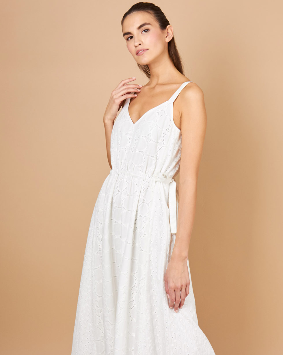 12Storeez Платье макси из шитья (белый) balloon and butterfly платье из хлопкового микса