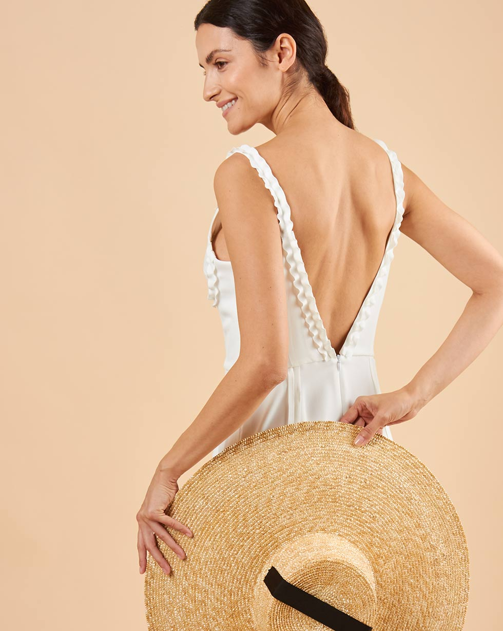 платья yulia sway платье loran 12Storeez Платье с нашивными лентами