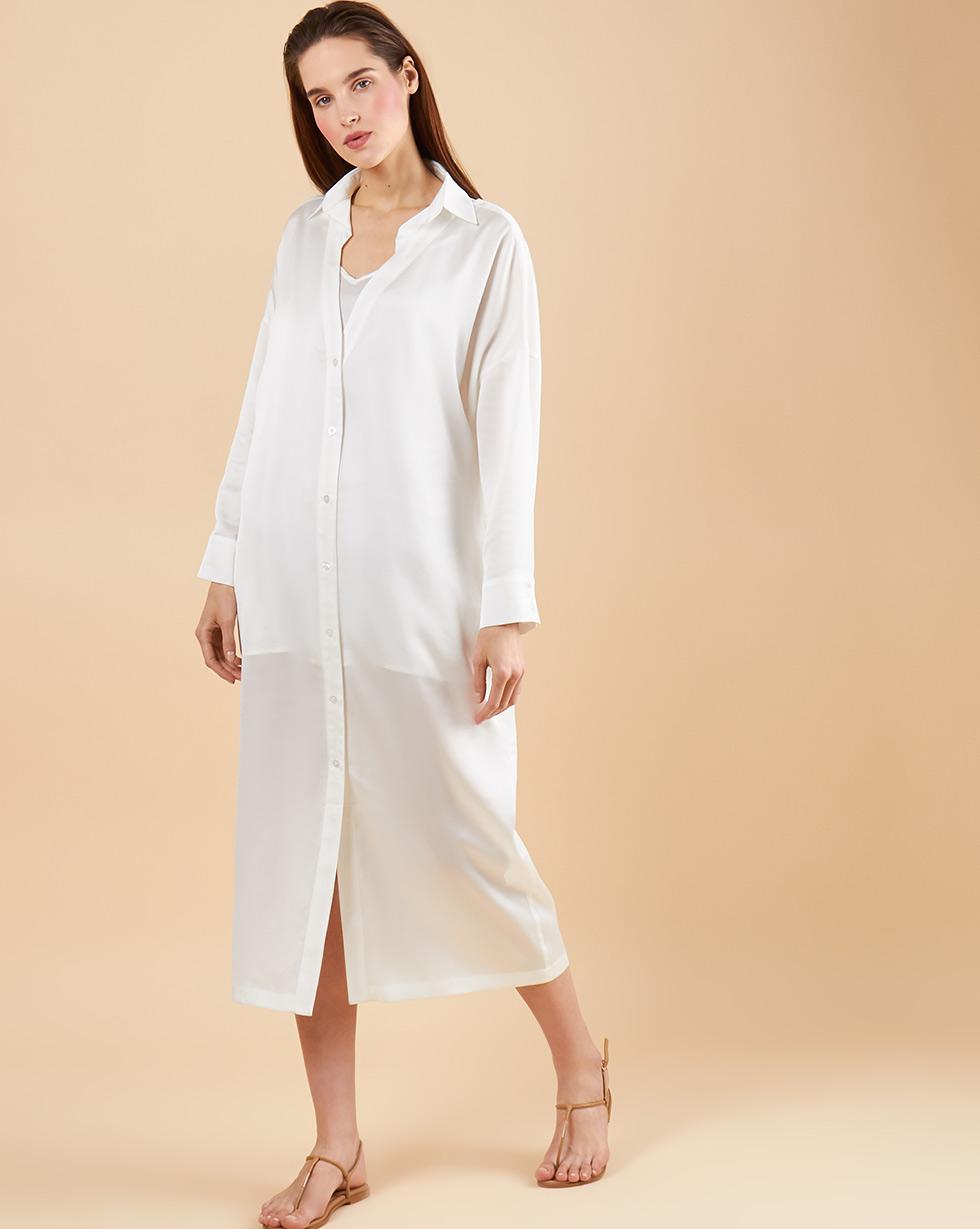 1d193e02ab68e Платье-рубашка с комбинацией в интернет-магазине — 12Storeez