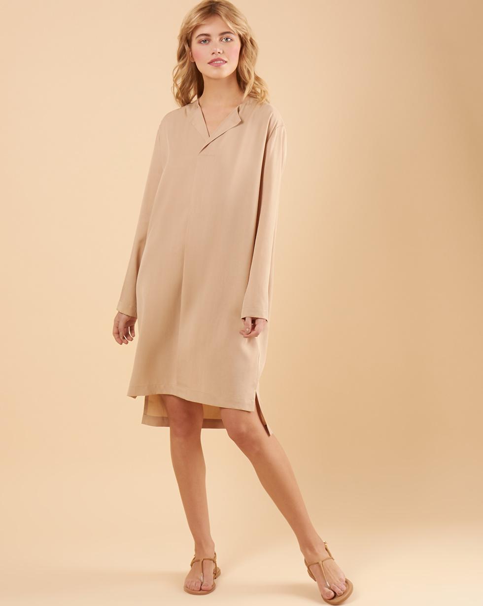 12Storeez Платье прямое (бежевый) цена