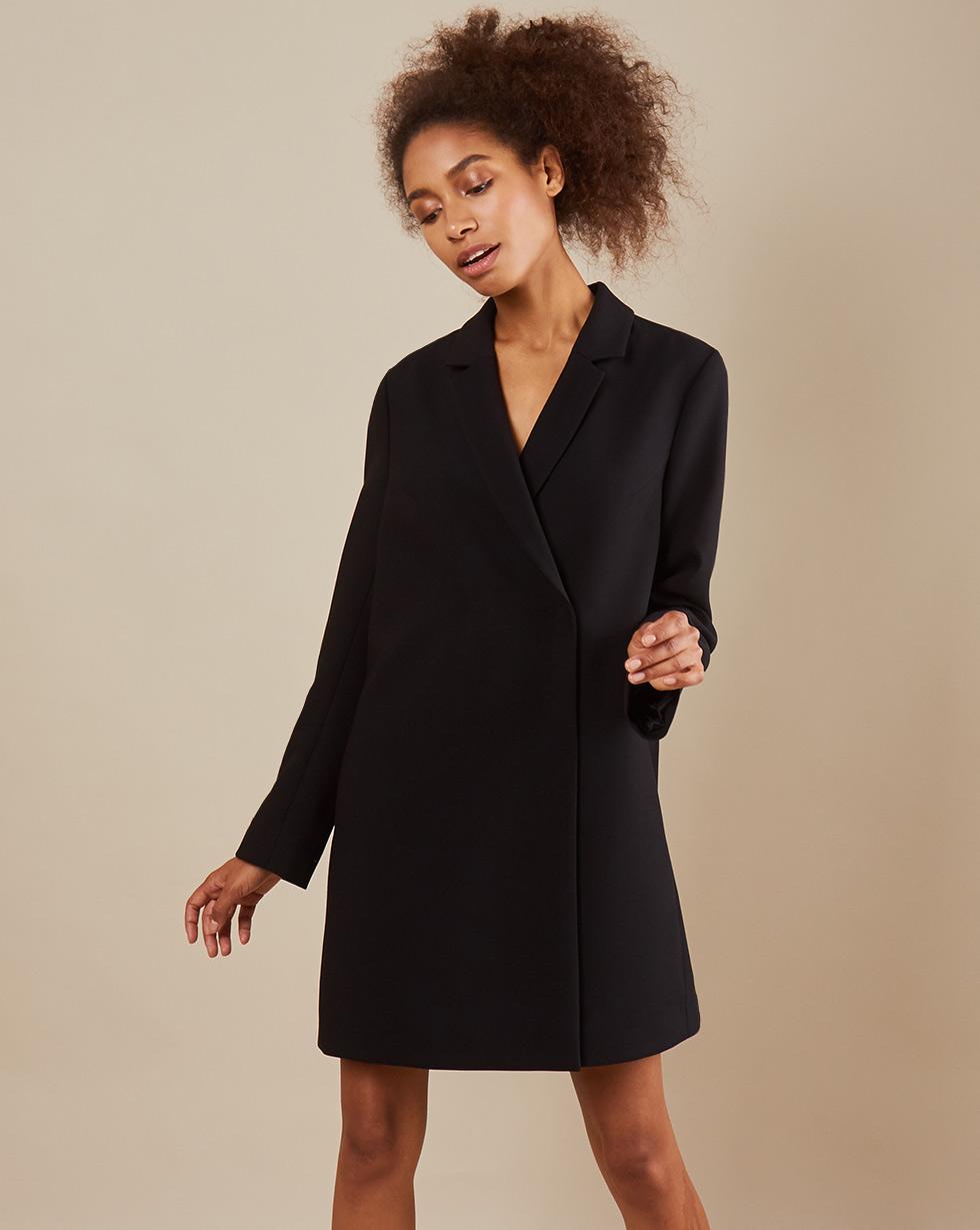 12Storeez Платье -пиджак мини (Чёрный)