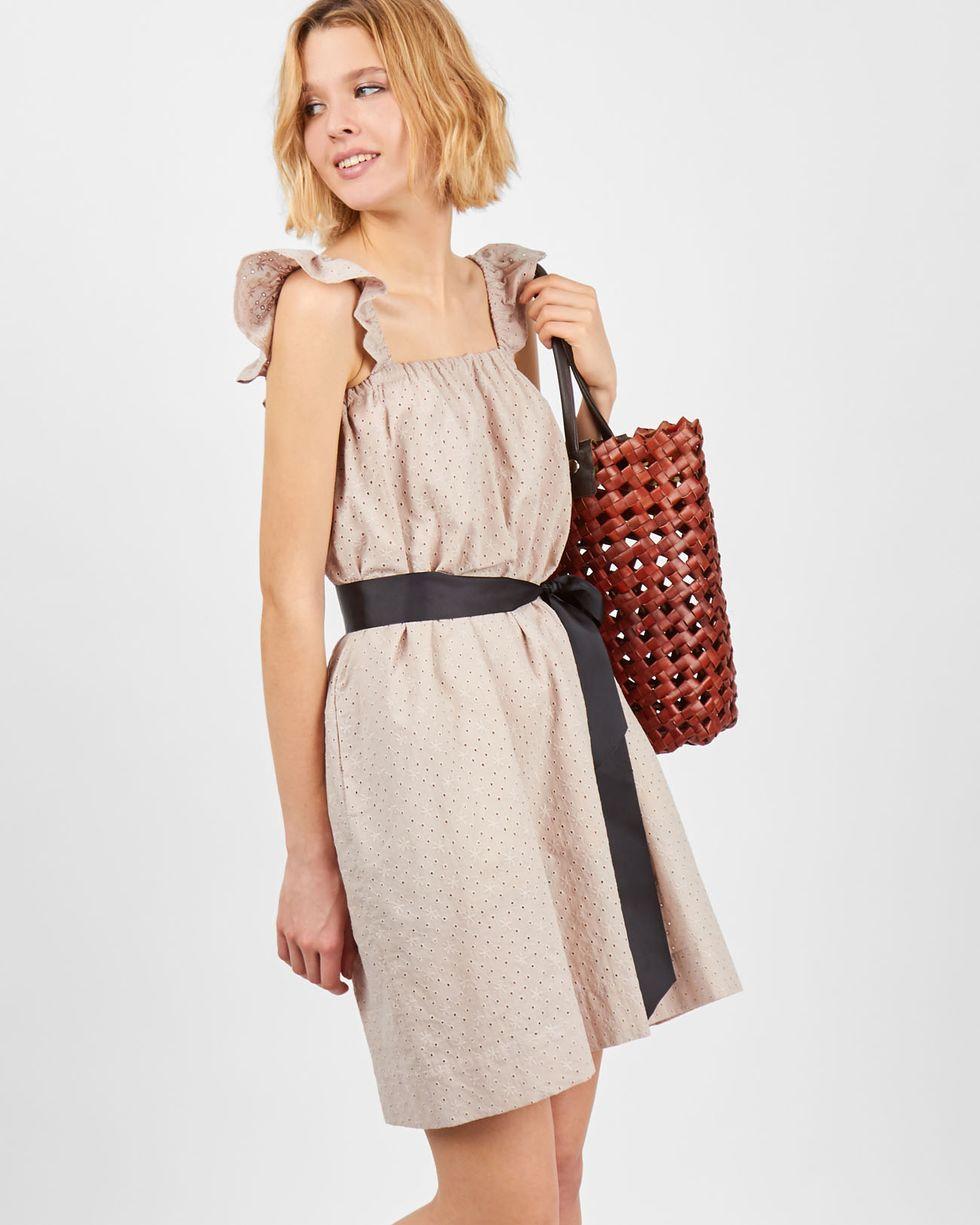 12Storeez Платье-сарафан мини с бретелями