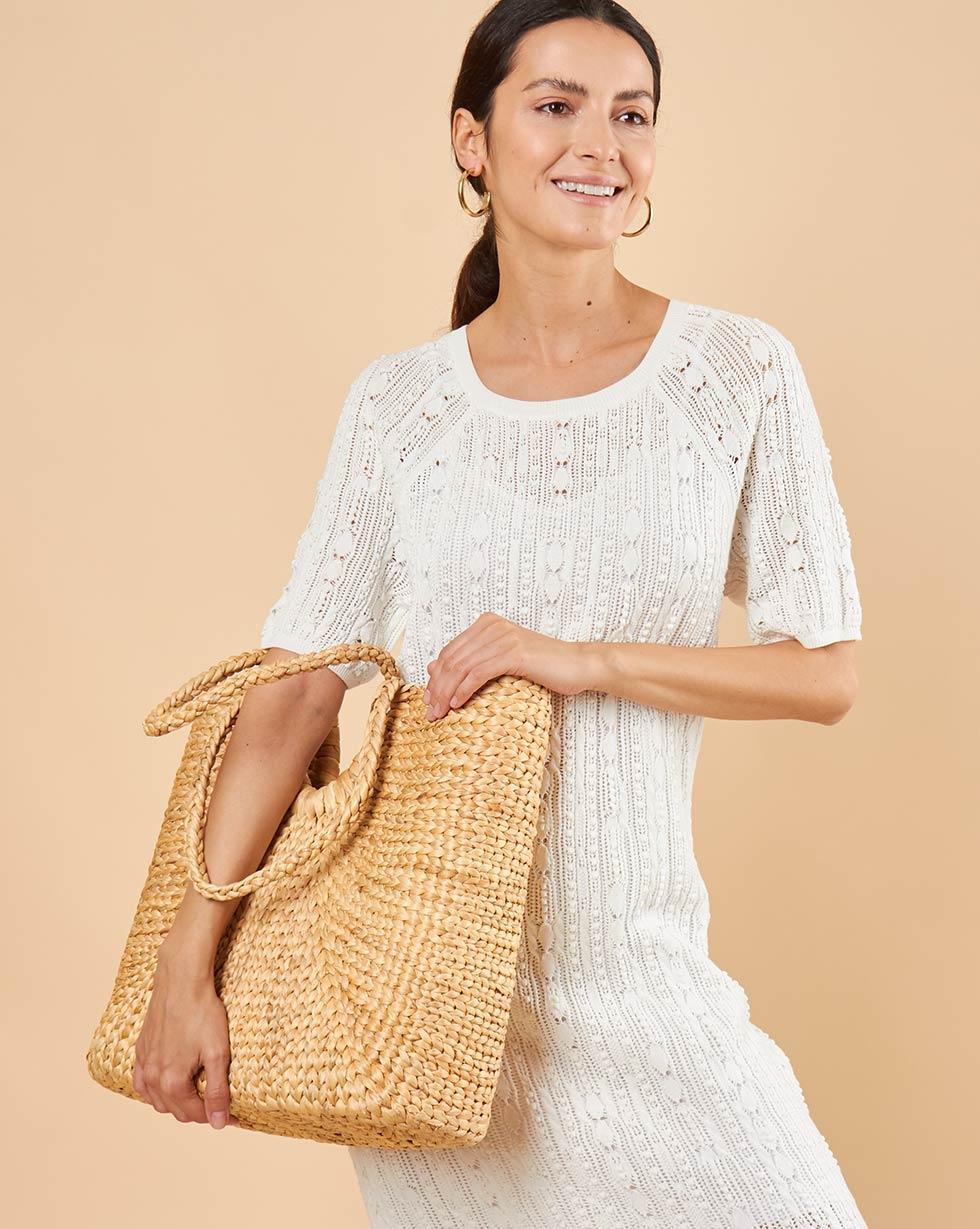 12Storeez Ажурное платье (белый) SS19