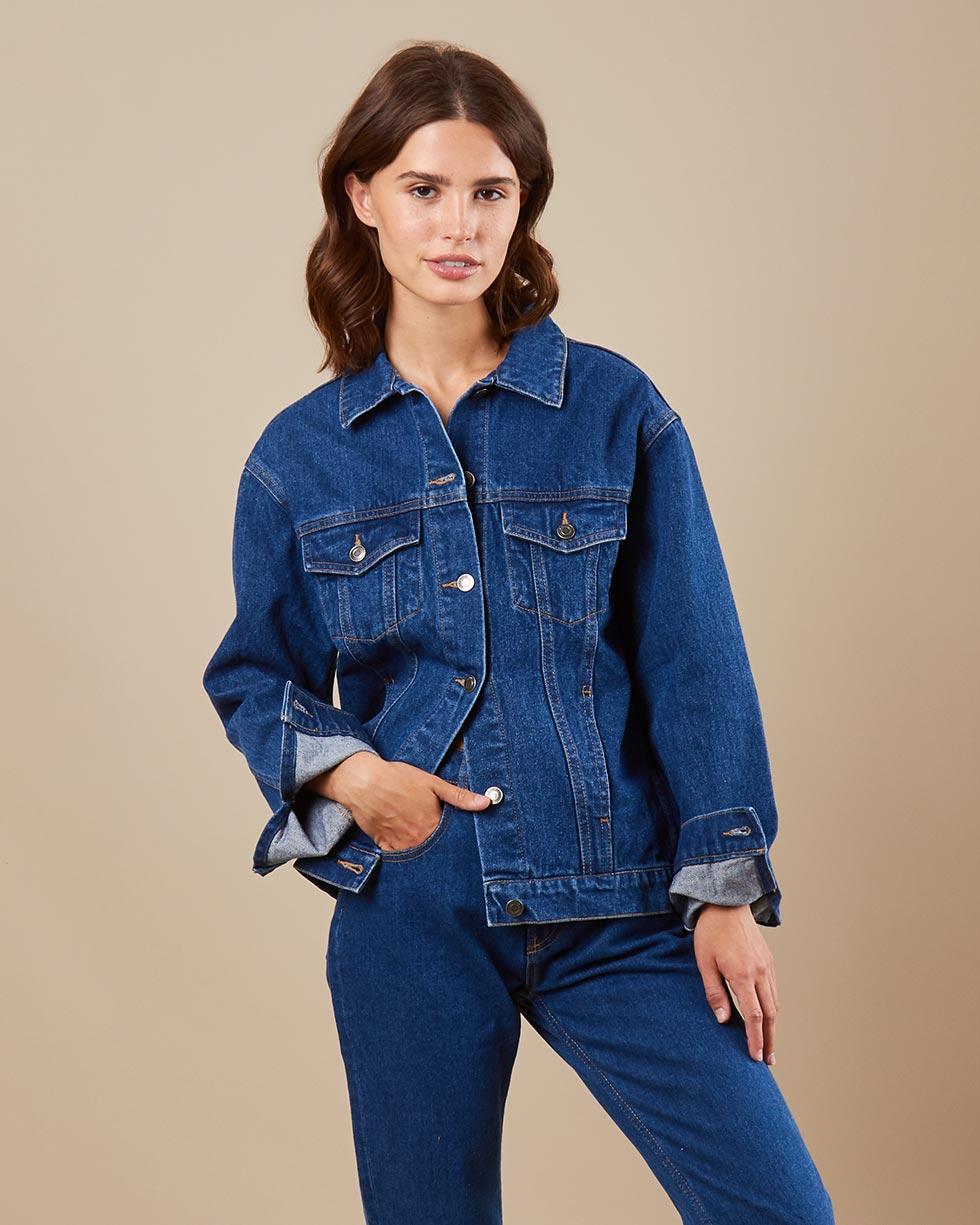 12Storeez Джинсовая куртка (синий) SS19