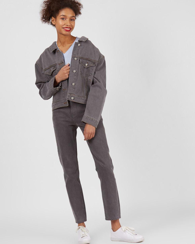 12Storeez Джинсовая куртка (темно-серый) 12storeez шарф темно серый