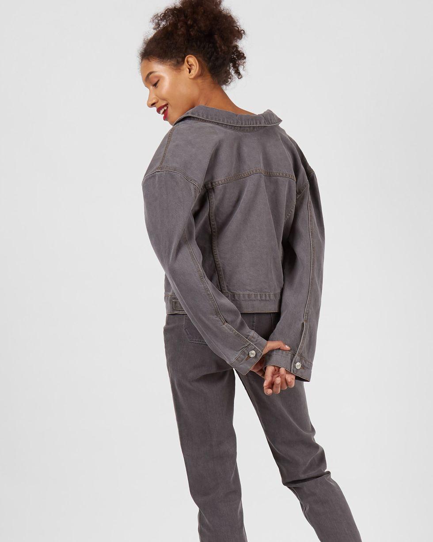 12Storeez Джинсовая куртка (темно-серый) джинсовая куртка