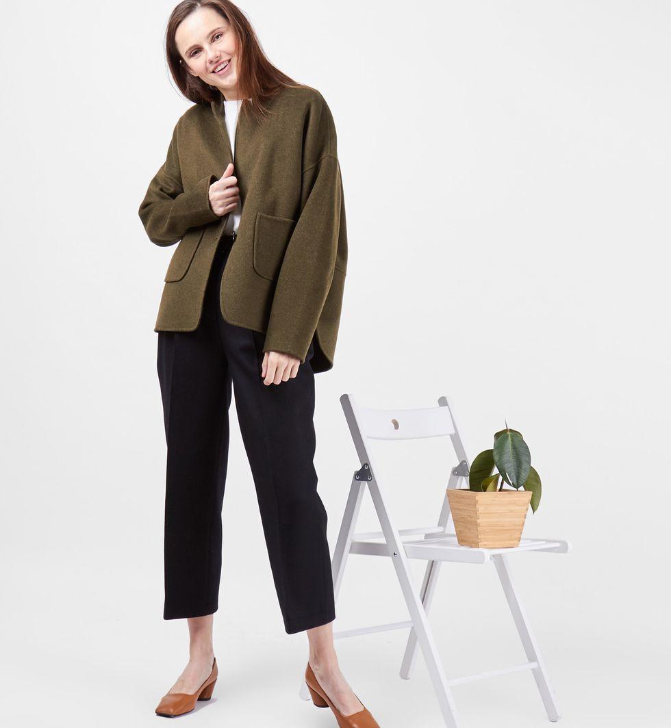Пальто-жакет One sizeВерхняя одежда<br><br><br>Артикул: 7997972<br>Размер: One size<br>Цвет: Зеленый<br>Новинка: НЕТ<br>Наименование en: Wool blend jacket