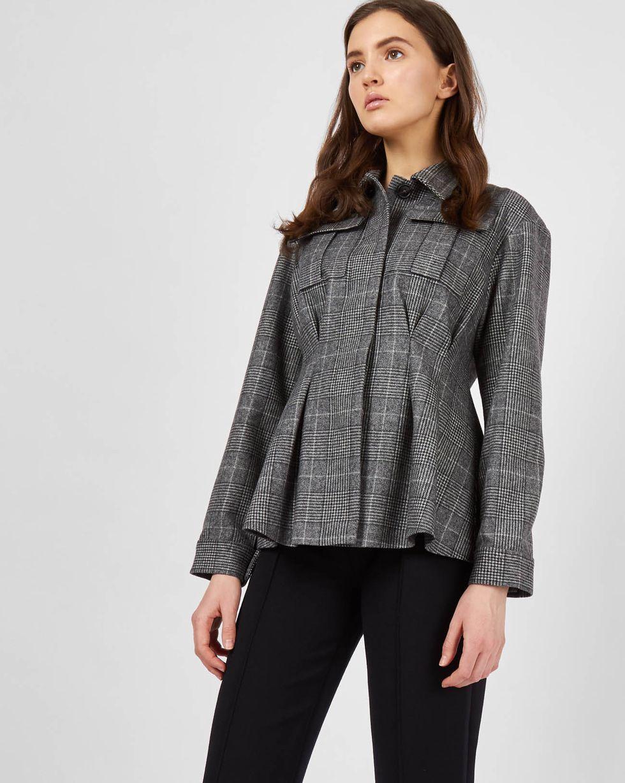 12Storeez жакет с накладными карманами(серый) woolrich черная парка с накладными карманами