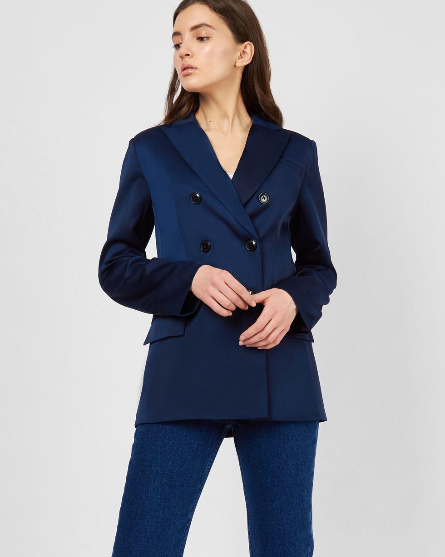 Пиджак двубортный S