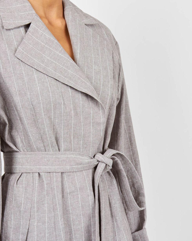 Пиджак изо льна XSЖакеты<br><br><br>Артикул: 9309615<br>Размер: XS<br>Цвет: Серый<br>Новинка: НЕТ<br>Наименование en: Linen jacket