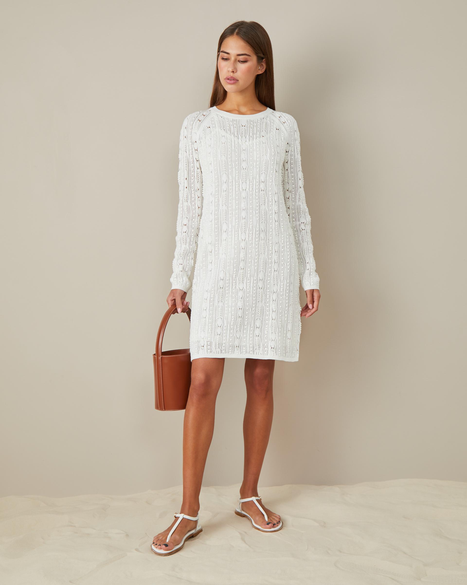 цена 12Storeez Ажурное платье мини онлайн в 2017 году