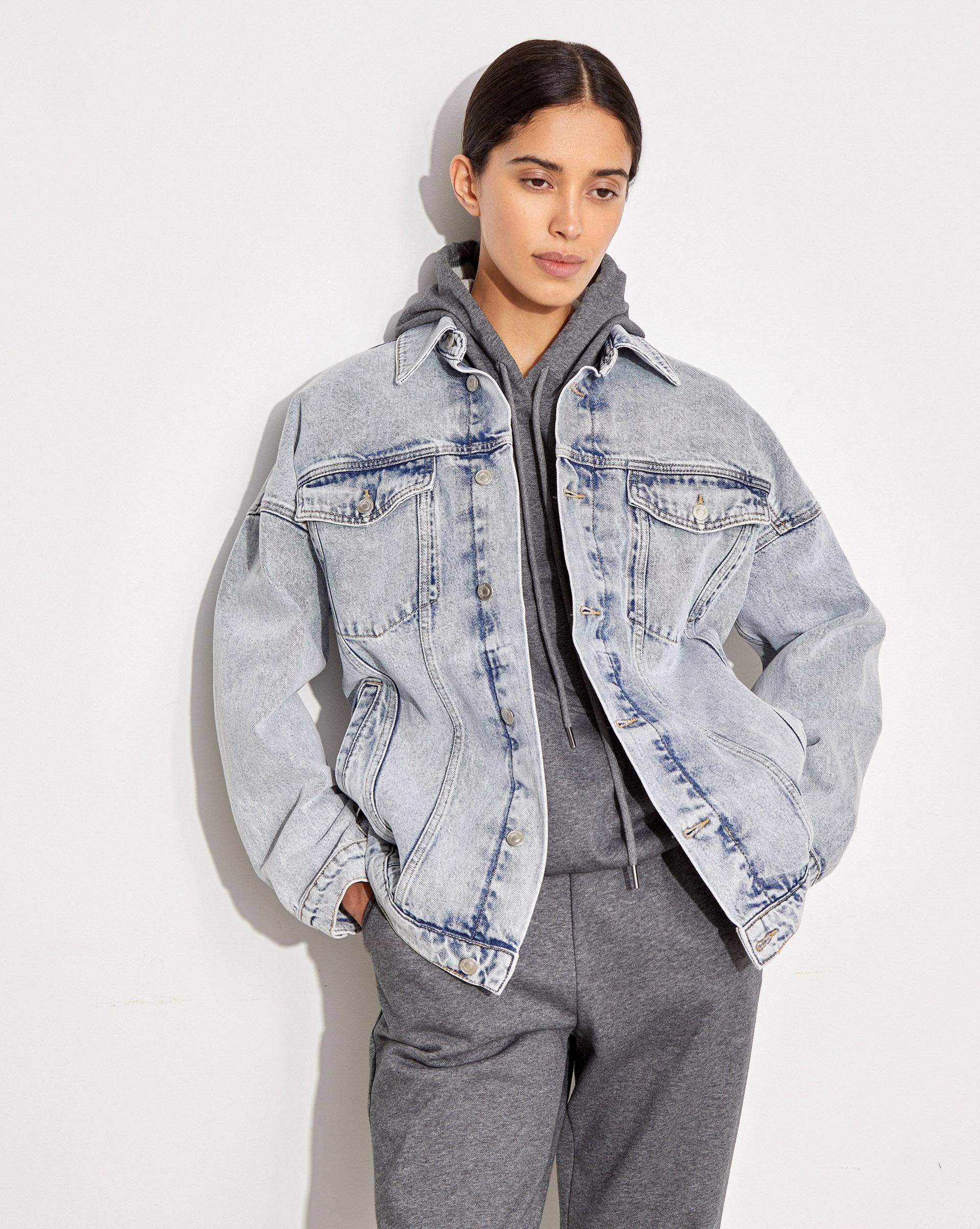 Джинсовая куртка на подстежке