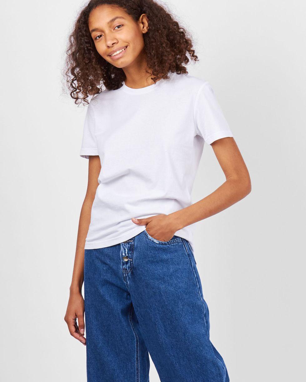 Футболка базовая MТрикотаж<br><br><br>Артикул: 84410344<br>Размер: M<br>Цвет: Белый<br>Новинка: НЕТ<br>Наименование en: Basic T-shirt