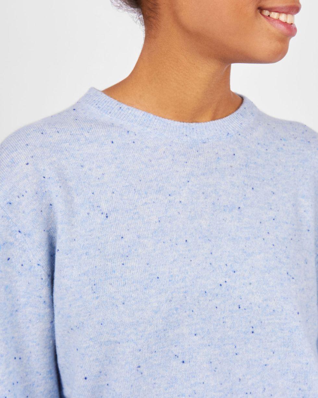 Свитер с круглой горловиной One sizeТрикотаж<br><br><br>Артикул: 84411115<br>Размер: One size<br>Цвет: Голубой<br>Новинка: НЕТ<br>Наименование en: Crew neck sweater