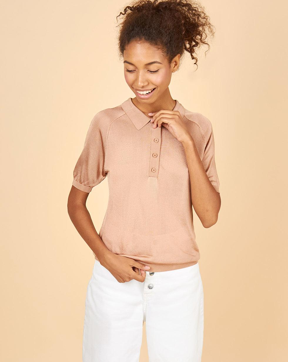12Storeez Поло с коротким рукавом блуза с коротким рукавом seventy блузы с коротким рукавом