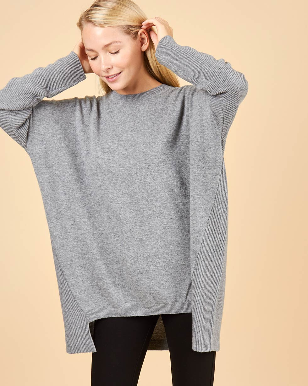 12STOREEZ Свитер удлиненный свитер sweewe sweewe sw007ewxax76