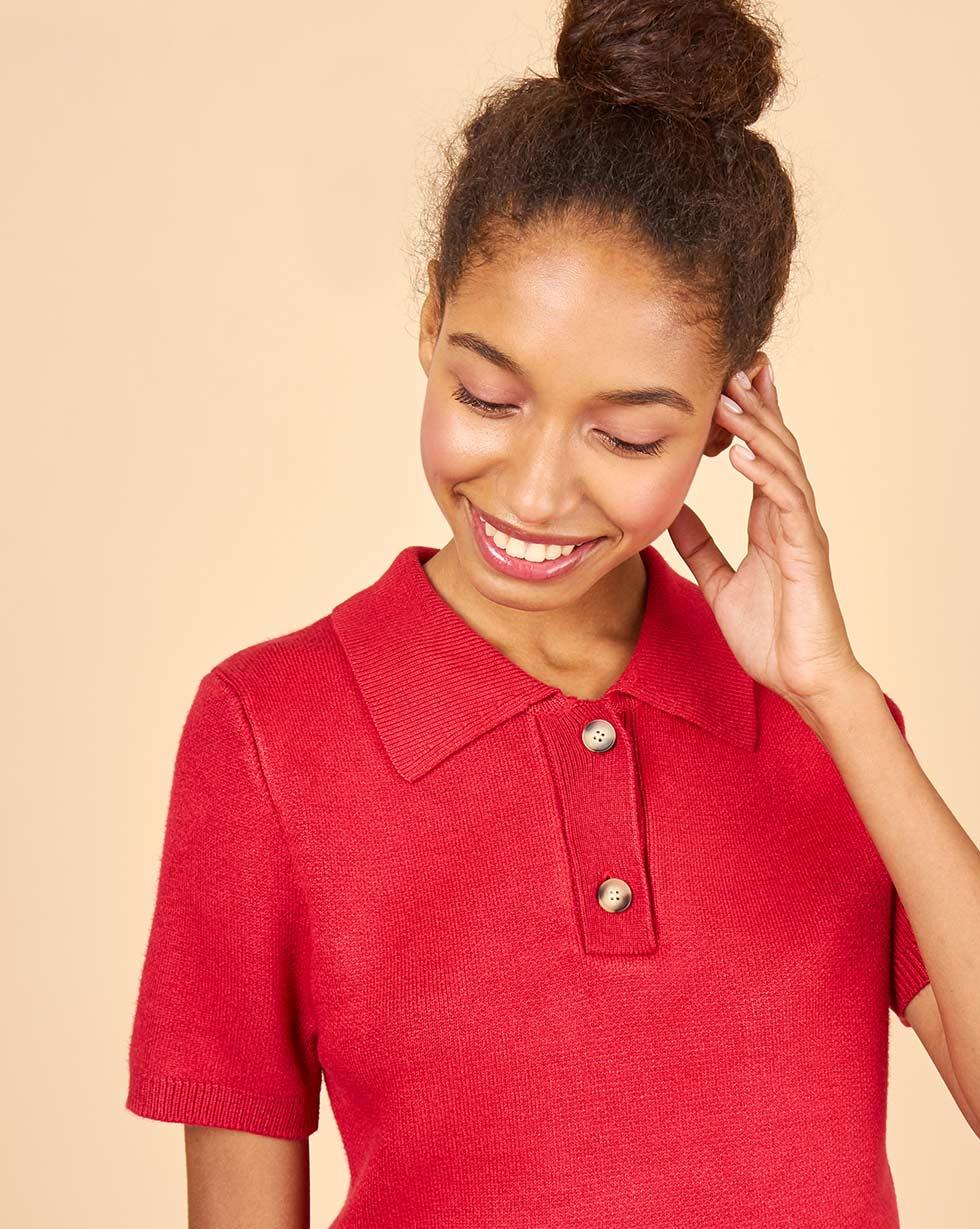 12Storeez Джемпер с коротким рукавом блуза с коротким рукавом seventy блузы с коротким рукавом